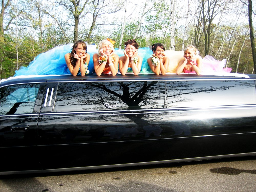 Limousine for prom
